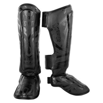 Venum Kickboks Scheenbeschermers Gladiator Black on Black