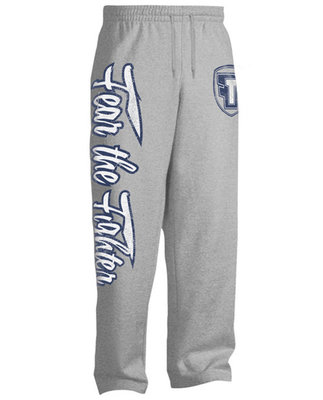 Fear The Fighter Jogging Broek Fleece Pants Grey