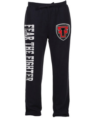 Fear The Fighter Jogging Broek Fleece Pants Black