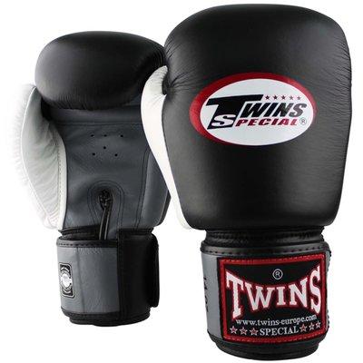 Twins Special Bokshandschoenen BGVL 4 Zwart Grijs Wit