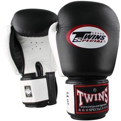 Twins Bokshandschoenen BGVL 3 Zwart Wit Leder