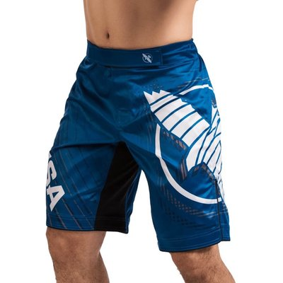 Hayabusa Chikara 4.0 Fight Shorts Blauw Hayabusa Fightwear