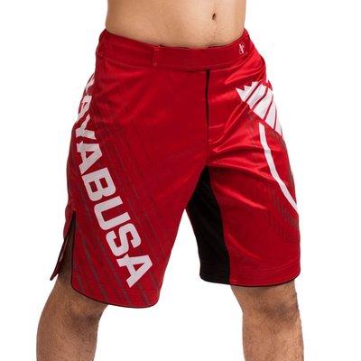 Hayabusa Chikara 4.0 Fight Shorts Rood MMA FightShorts