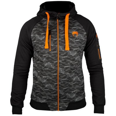 Venum Tramo 2.0 Hoody Black Orange Vechtsport Shop Nederland