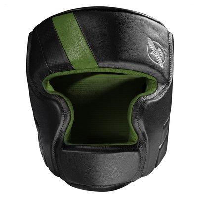 Hayabusa T3 Headgear Hoofdbeschermer Zwart Groen