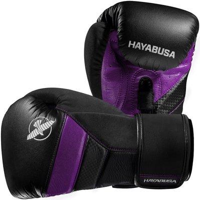 Hayabusa T3 BokshandschoenenBoxing Gloves Zwart Paars