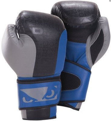 Bad Boy Bokshandschoenen Legacy Boxing Gloves Black Blue Grey