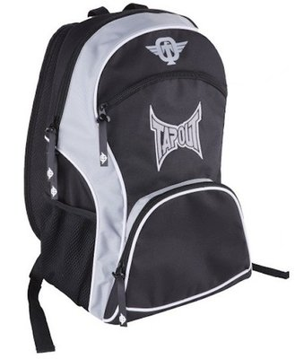 TapouT Nylon Rugzak Backpack Black Grey
