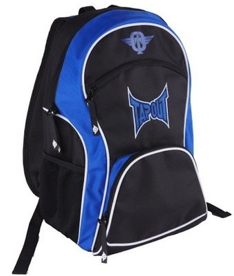 TapouT Nylon Rugzak Backpack Black Blue
