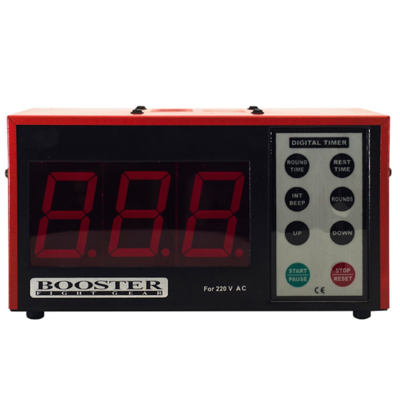 Booster Boksklok Box interval Timer Digital DT 4 Booster Fight Gear