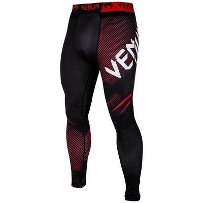 Venum Legging NoGI 2.0 Tights Spats Zwart Rood BJJ Fightgear