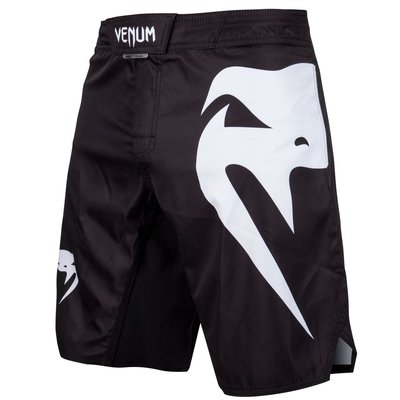 Venum Light 3.0 MMA Fightshorts Zwart Wit