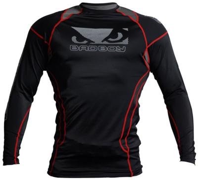 Bad Boy Tech Performance Top Rashguard Black Red size XL