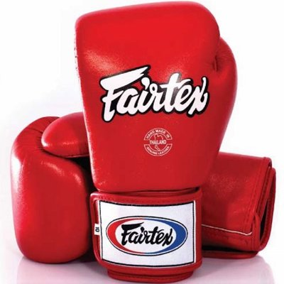 Fairtex Bokshandschoenen Muay Thai Gloves BGV1 Rood