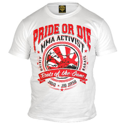 PRIDEorDIE Roots of the Game T Shirt White