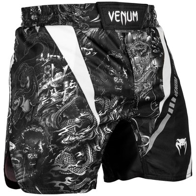 Venum ART Fight Shorts Zwart Wit Venum Kleding