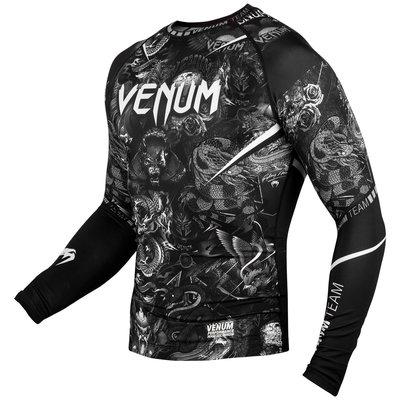 Venum Kleding ART Rash Guard Long Sleeves Zwart Wit