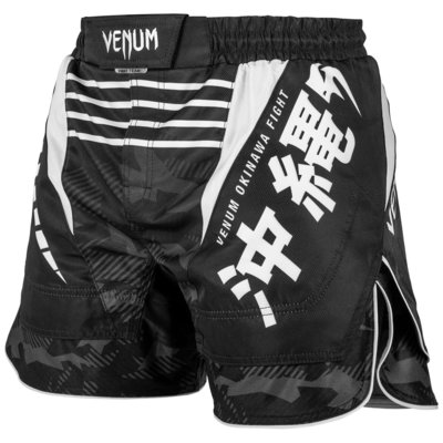 Venum Fight Shorts OKINAWA 2.0 Zwart Wit
