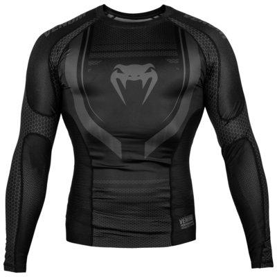 Venum KledingTechnical 2.0 Rash Guard L/S Zwart Zwart