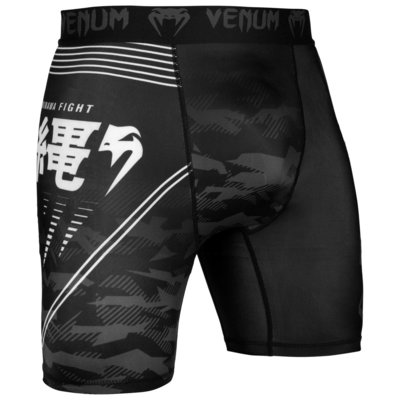 Venum Okinawa 2.0 Compression Short Zwart Wit