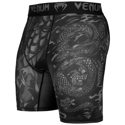 Venum Dragon's Flight Compression Shorts Zwart Zwart