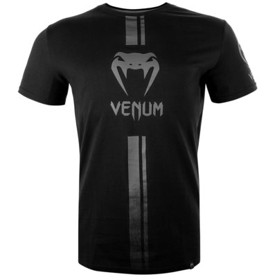Venum KledingLogos T-shirt Zwart Grijs