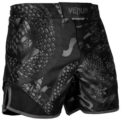 Venum Vechtsport Broek Dragon's Flight Zwart ZwartFight Shorts