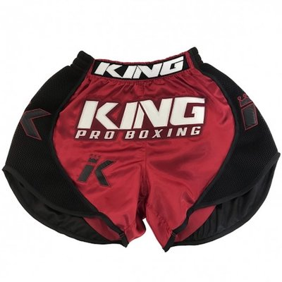 King Thaiboks Broekjes KPB/BT X1 Muay Thai Shorts Red