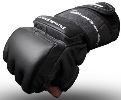 Punch Town Tenebrae MMA Training Gloves Handschoenen Black