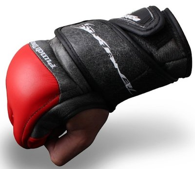 Punch Town Tenebrae MMA Fight Gloves MMA Handschoenen Red
