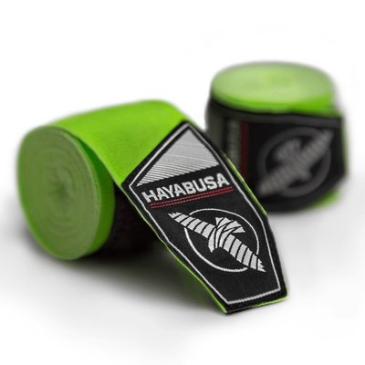 Hayabusa Boks Bandages Perfect Stretch 2.0 Handwraps Groen