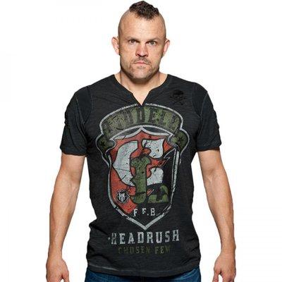 HeadRush Chuck Liddell Shield T Shirt Black