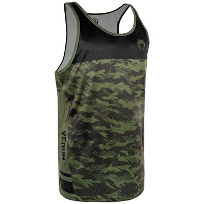 Venum Trooper Tank Top Forest Camo Zwart