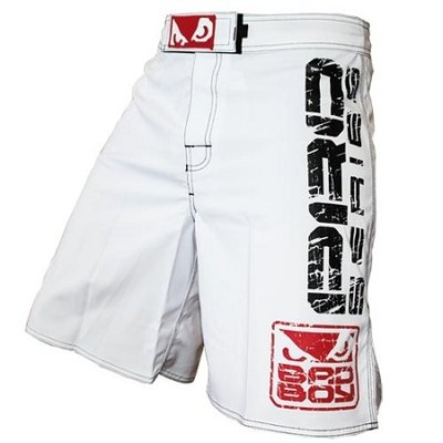 MMA Shorts Bad Boy Capo 2 White only size XS