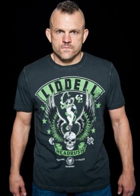 HeadRush Liddell Chosen few Collection Snake Vixen MMA T Shirt