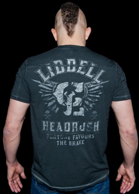 HeadRush Liddell Chosen Few Collection Onyx T Shirt