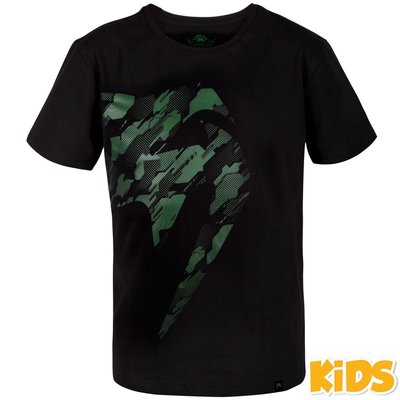 VenumKids Giant Tecmo T ShirtZwart Khaki