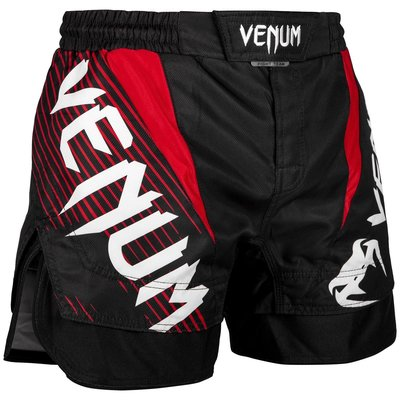 Venum NOGI 2.0 Fight Shorts Zwart Rood Vechtsport Shop