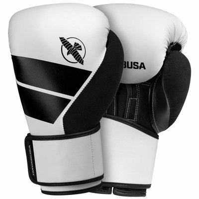 Hayabusa Bokshandschoenen S4 Kit Wit incl set Boksbandages
