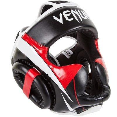 Venum ELITE Headgear Hoofd beschermer Black Red Grey
