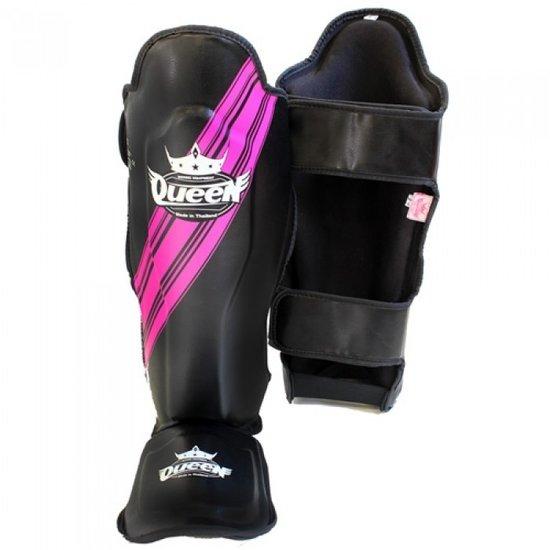 Onwijs Queen Kickboks scheenbeschermers SGQ Vixen 1 Black Pink RA-63