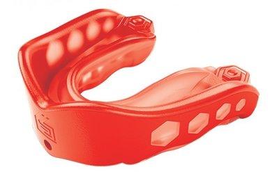 Shock Doctor mouth Guard Red gel max mond bitje SDM-1 gebitsbeschermer