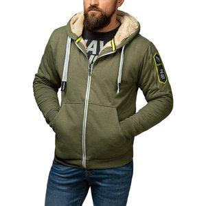 Hayabusa Arctic Heavy Weight Zip Hoodie Groen