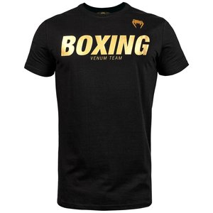 Venum BOXINGVT T-shirts Zwart Goud