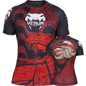 Venum Absolute Crimson Viper Rashguard S/S SIZE S