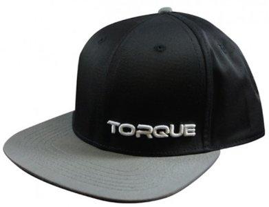 Stealth TORQUE Sports Snapback Cap Pet Black Grey