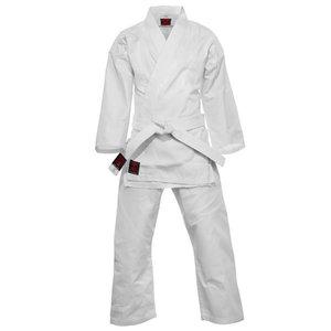 Karatepak Kensu Wit Karate Gi met Witte Band Essimo