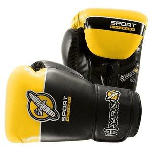 Bokshandschoenen Hayabusa Sport 10 OZ Training Gloves Black Yellow