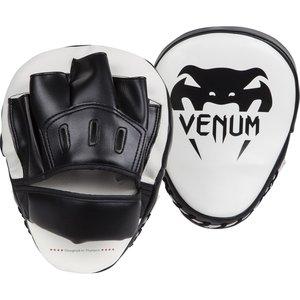 Venum Light Focus Punch Mitts Pads Ice Black Kickboks Spullen