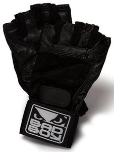 Bad Boy Fitness Handschoenen in Leder Weight Lifting Gloves
